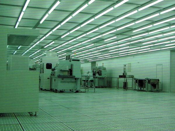 百级电子洁净无尘室车间净化工程