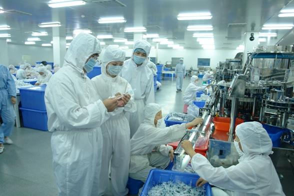 医疗用品万级洁净无尘室净化工程