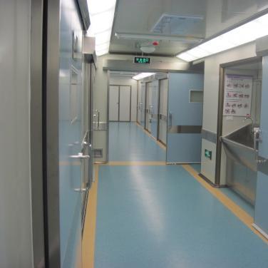 手术室洁净走廓及自动门净化工程